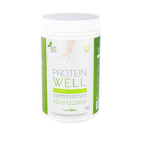 Proteína Protein Well Neutra 400g - Nutrawell